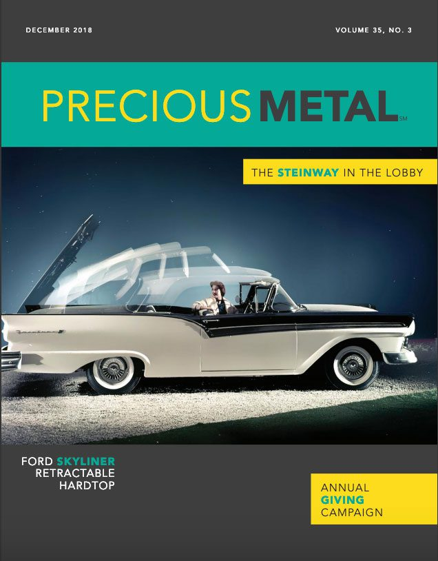Precious Metal: Vol. 35, No. 3